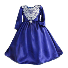 Summer childrens clothings new model girl evening party dress for 2-12 years old girls ML132180