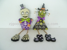 HOT SALE Halloween Table Top Skeleton Witch Decoration