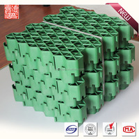 virgin HDPE material Planting grass grating for Car Parking