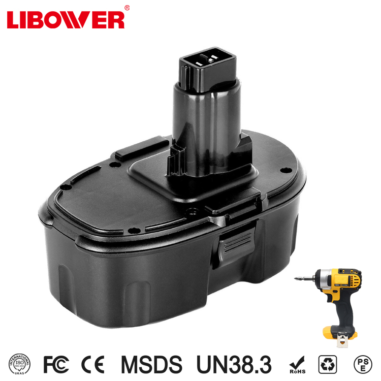 Libower Yellow color RoHS Good Performance top quality battery 18v dewaltx
