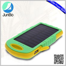 Universal 5000 mah Portable Power Bank for Mobile Phone, Solar Energy charger Power Bank