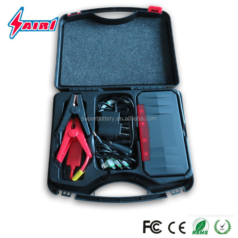 Auto jump starter portable 12V mini truck multi-function car ignition booster