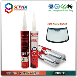FACTORY PRICE high elasticity waterproof polyurethane adhesive for car glass (PU8630)