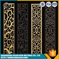 Professional manufacturer exterior decorative metal wall panel