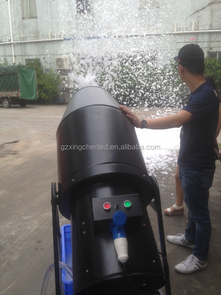 pool party foam machine 1800W stage jet foam machine