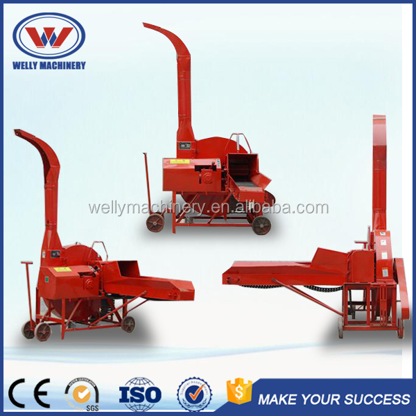 Automatic straw crusher/corn silage cutter 0.5-18T one hour