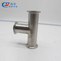 CE AAA Certificated pipe and Ftting Sanitary Clamped Tee