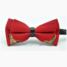 Golden Metal Corner Colorful Santin Bow Tie