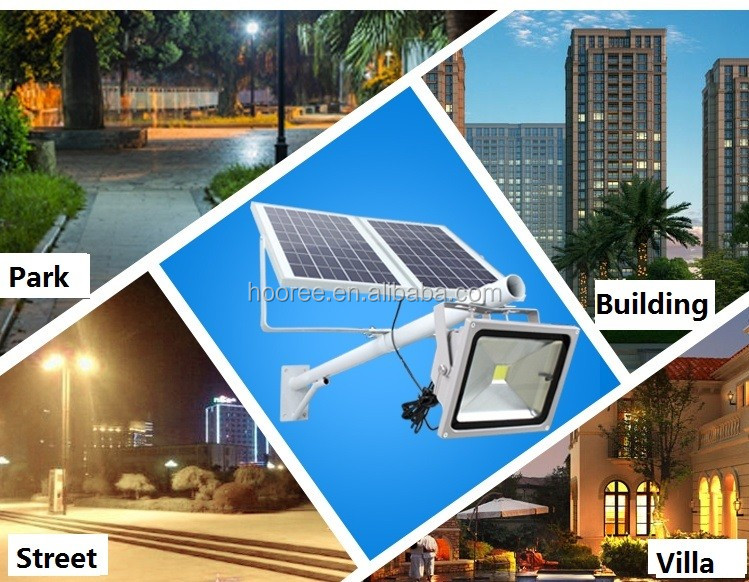 30W Solar Panel 15W Integrated SMD LED Street Light with Timer Function