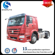 Sinotruk howo 4x2 international tractor truck head for sale