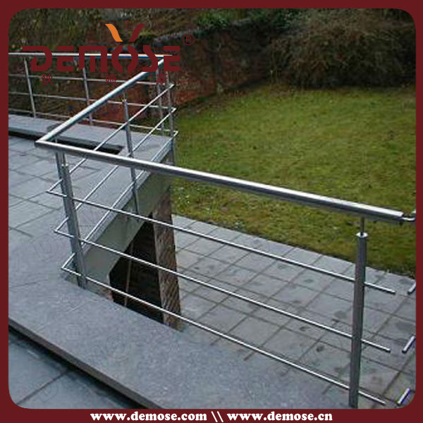 Fotos barandales de acero inoxidable para escaleras for Pasamanos de escaleras exteriores