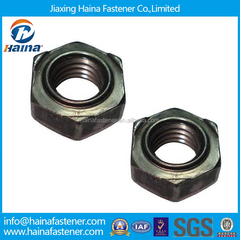 DIN standard Chinese manufacturer in Stock m8 din 929 hex weld nuts