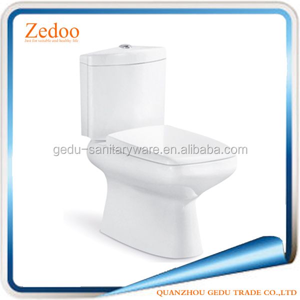 ZD-8020 New arrivals 2016 cheap ceramic two piece toilet