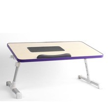 Adjustable Foldable Sofa Laptop Table with Fan