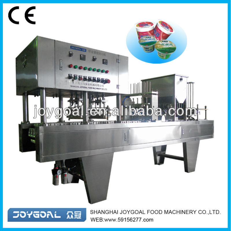 Shanghai factory price for automatic plastic cup form fill seal machine