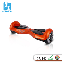two wheeled self-balancing lingyu scooter 2015 newest 6.5inch with Samsung battery smart scooter