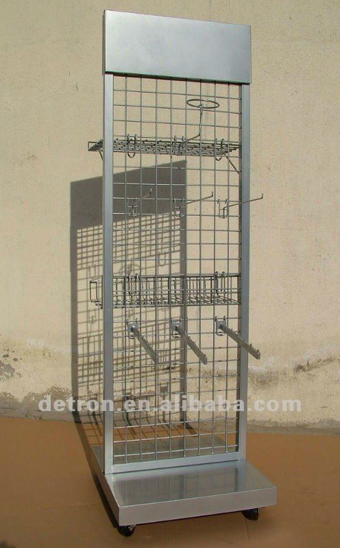 2012 Wire Mesh Display Stand with Hooks S2112 ~ NEW