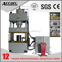 Four Pillars Hydraulic Press 120T capacity for NR12 Safety standards