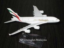 Emirates Airbus A380-800Diecast Aircraft Scale Model