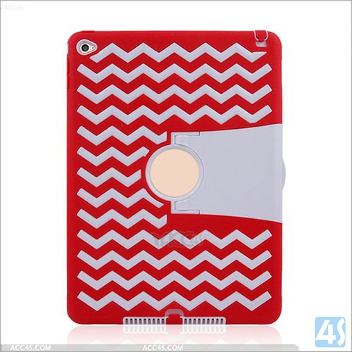 Shockproof Heavy Duty Case For iPad Air 2 Protect Skin Rubber Hybrid Cover Stand Case For iPad 6
