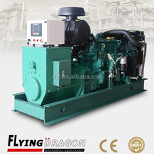 powered by volvo 128kw electric diesel engine dynamo generator set, 160kva 3 phase power generating power equipment