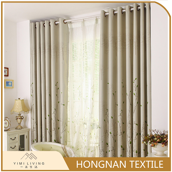 Made in China classical printed window curtains blackout wholesale