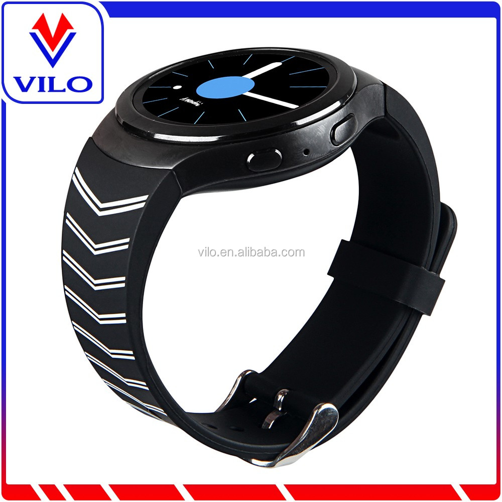 Replaceable Sweatproof Sport Watch Strap For Samsung Gear S2 Silicone Rubber