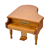 Piano Shape Wooden Music Box With