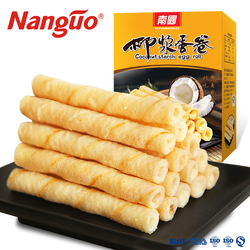 eggs roll coconut cream biscuit 540g