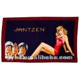 100% cotton free adult cartoon beach towel