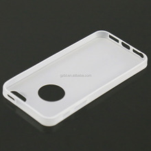 factories in guangzhou translucent matte rubber mobile cover for i phone 5 5s