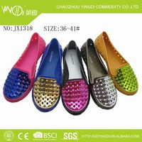 Sexy women fashion pvc shoes 2015 woman upper diamond shape sandals in hot sale