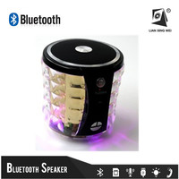 High Power Flashlight Bluetooth Speaker USB FM