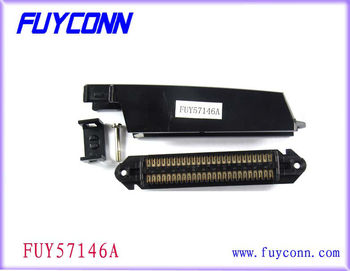 TYCO RJ21 90 Degree 50 Pin 25 Pairs Centronic Champ 2.16mm Pitch connector IDC Female Receptale Type