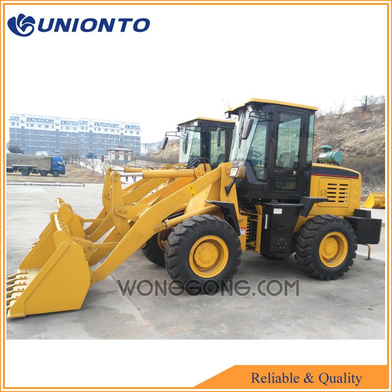 2 ton rated loading mini wheel loader for sale