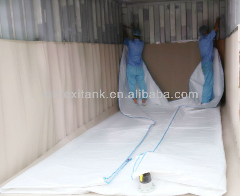 24000L large flexitank container for loading oil