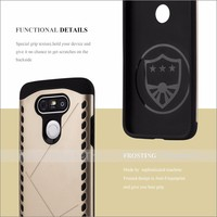 Shock Proof Shield Mobile Phone Case Back Cover For LG G5