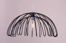 Metal Wire Pendant Lamp