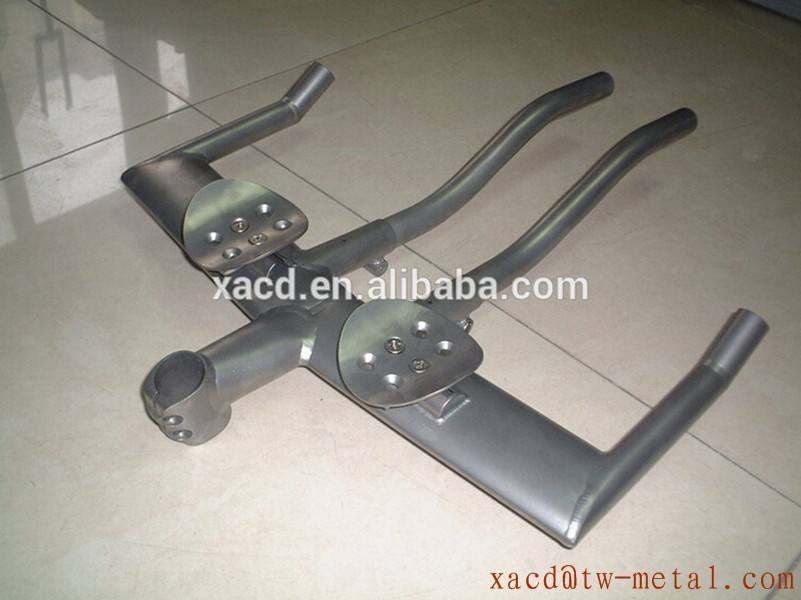 titanium TT handle bar titanium bicycle handle bar custom