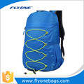 Blue lightweight foldable backpack folding backpack for camping