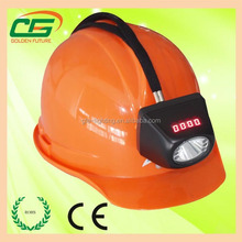ATEX approved underground digital and cordless rechargeable led miner cap lamp