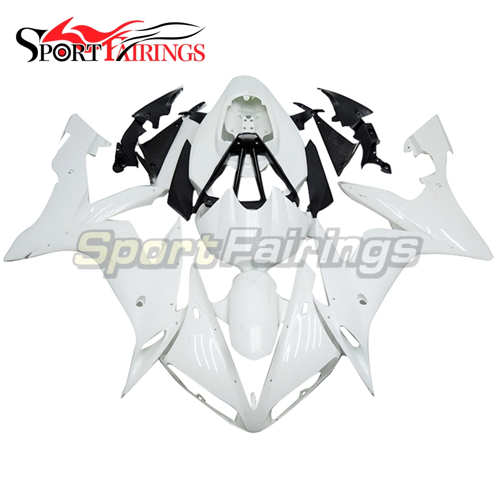 Pearl White Full Covers For Yamaha YZF <strong>R1</strong> <strong>2004</strong> 2005 2006 ABS Plastic Injection Motorcycle Fairing Kit Body Kits