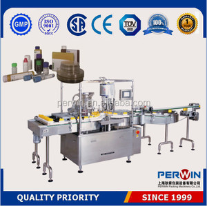 best selling biochemical test reagent filling machine PERWIN rapid bottle filling lines