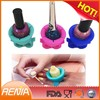 RENJIA nail polish bottle holder silicone nail polish holder nail polish holder