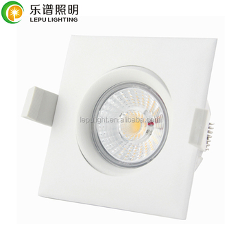 CE Rohs Ra92 GYRO anti-glare recessed cob led lampen dim to warm downlight NEMKO 9wts