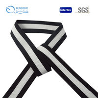2014 New design high quality customized jacquard striped elastic tape