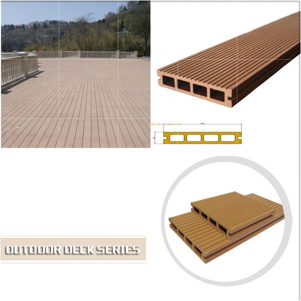 Professional WPC decking, fence, handrails and wall panel manufacturer with output 2,000tons/month