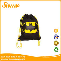 School use 210D polyester durable drawstring bag for kids
