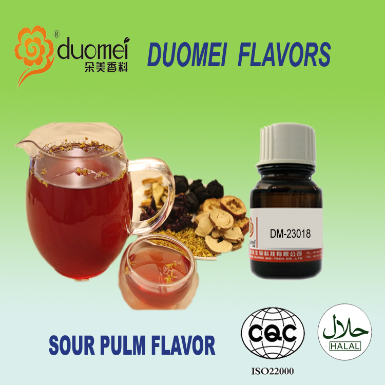 2016 Duomei new flavor:DM-23018 Sour Pulm Concentrated flavoring essence