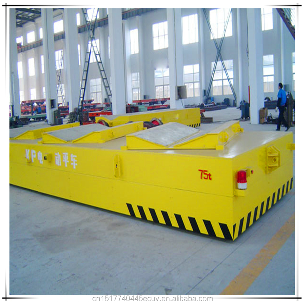 Low Voltage Track Flat Car With Cheap Price